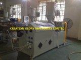 Chaîne de production en plastique d'extrusion de profil à haute production automatique de PE