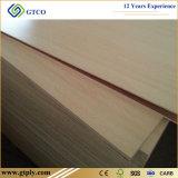 strato del compensato di rivestimento della melammina del grano di legno di 5mm 9mm