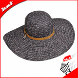 Wide Large Brim Floppy Summer Beach Beach Chapéu de palha