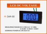 CC Voltage Panel Meter 0-500V dell'affissione a cristalli liquidi D69-30