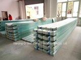 FRPのパネルによって波形を付けられるガラス繊維またはファイバーガラスカラー屋根ふきのパネルW172052