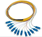 Shenzhen Takfly 2 conectores de 0.9mm 3m FC / PC dúplex de fibra óptica flexible de conexión
