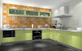 Gabinete de cozinha UV do lustro elevado moderno (Zx-062)