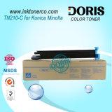 Cartucho de tóner compatible Tn210 Copiadora de color para Konica Minolta Bizhub C250 C252 C250p C252p