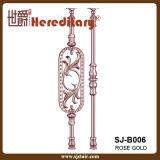 Die-Casting Baluster золота Rose алюминиевый для вилл (SJ-B006)