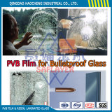 Profondément verre feuilleté clair de 6.38mm avec le film de la couleur PVB
