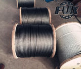 UngalvanizedおよびGalvanized Steel Wire Rope