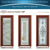 Aluminiumflügelfenster-Tür-Badezimmer-Tür-Toiletten-Tür