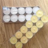 Ja handgemachte weiße Farben-Sojabohnenöl-Wachs-Kerzen