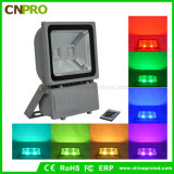 Reflector de IP65 100W RGB LED
