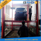Lift Tabllesの縦のHydraulic Guide Rail Lifting Platform