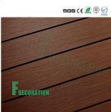 Plataforma ao ar livre de madeira plástica do composto WPC do preço barato impermeável