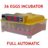 Capacité d'incubateur complètement automatique d'oeufs des prix les meilleur marché de 36 oeufs pour le monde d'Ound de poulets
