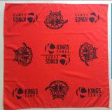Bandana de seda del cuadrado del algodón de la impresión del diseño por encargo