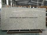 Pedra artificial de quartzo da cor de mármore para a bancada da cozinha