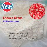 99% Reinheit-aufbauende Steroid Hormon-Puder Mibolerone Azetat-Scheck-Absinken