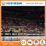 Muestra grande grande al aire libre de la visualización de LED del deporte de Pertimeter