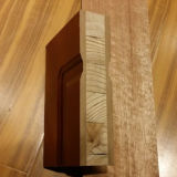 Puerta de madera interior de la chapa de la puerta de entrada de puerta de la puerta de madera sólida