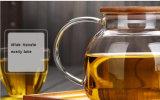 Vaatwerk van de Theepot van het Glas Borosilicate van de Hittebestendigheid het Hoge voor Groothandelaar