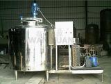 Type vertical réservoir de refroidissement du lait d'expansion directe