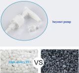 黒いプラスチックローションポンプびん(NB204)