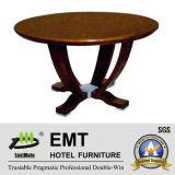 Table basse ronde de vente chaude Nice de conception en bois (EMT-CT05)