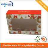 Bello Handmade Glossy Cardboard Paper Box con Plastic Window (AZ121908)