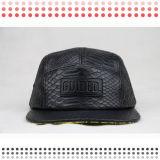 5 chapeaux de panneau avec la connexion faite sur commande de logo