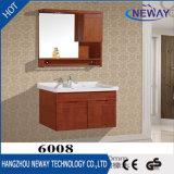 Hôtel en bois d'usine de Module de vanité de salle de bains de modèle simple