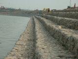 Fabbricazione della rete metallica dei cestini di Gabion