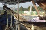 Abfallwirtschafts-Abdachungs-Schrauben-Förderanlage für das Klärschlamm-Führen