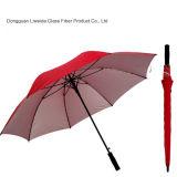Зонтик гольфа высокого качества Windproof с рамкой/нервюрами стеклоткани