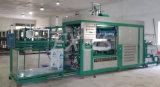 Do vácuo automático do recipiente plástico de NF1250b máquina de formação Thermo com empilhador