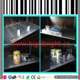 System-Supermarkt-Regal-Teiler mit Ausdrücker für Zigarette und Getränke