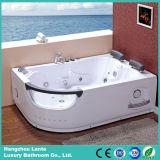 Двойная ванна массажа водоворота Jacuzzi персоны (CDT-006)