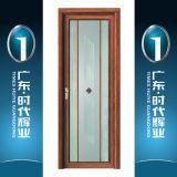 Puerta de aluminio del marco del color de madera