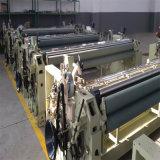 単一ポンプ倍のノズルのWaterjet織機の織物の編む機械