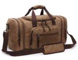 Мешок перемещения мешка плеча сумки синей холстины просторный