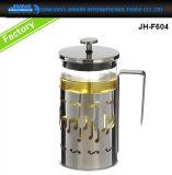 Pressa di vetro del francese del POT della brocca dell'articolo da cucina per caffè, latte di soia