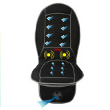 Electric Cool Heat Vibration Back Shiatsu assento de carro almofada de massagem