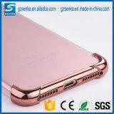Alta caja suave a prueba de choques clara ultra fina del teléfono celular de la esquina TPU para el iPhone 7