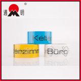 Bande colorée imprimable sensible à la pression d'emballage de BOPP