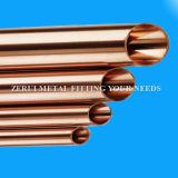 Tipo tubo de 3 pulgadas de agua de cobre de K para la plomería