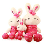 Long Legs White Rabbit Plush Toy Stuffed Bunny Soft Toy