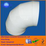 Fodera di ceramica del tubo allineante dell'alta del soddisfare dell'allumina Al2O3 di 92% allumina di resistenza all'usura