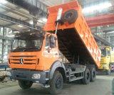 Benz Beiben 6X4 380HP van het noorden 40 Ton van de Vrachtwagen van de Stortplaats voor Verkoop