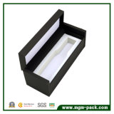 Elegent黒いClamsellの木の香水のギフト用の箱