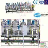 Jinzong 기계장치 자동적인 액체 세제 생산 라인 믹서 기계장치 공급자