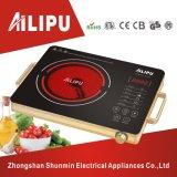 金属のハウジングおよびヒーターの要素の赤外線ストーブか赤外線調理用コンロの版
