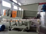 PE/PP/LLDPE/EVA/Carbon Masterbatch 까만 Masterbatch 밀어남 기계 또는 압출기